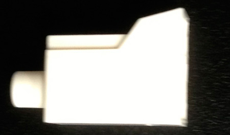 Senko 931-CAP-W 1.25mm LC Fiber Connector Dust Cap - White - Each