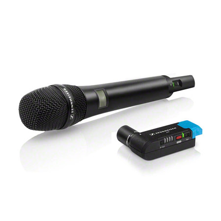 Sennheiser AVX-835 SET-4-US Handheld Transmitter With E835 Capsule & EKP Plug-On Receiver
