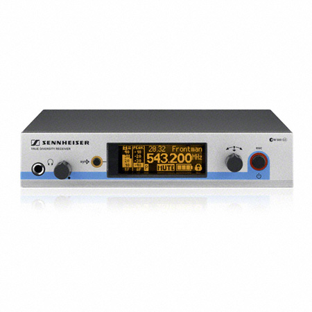 Sennheister EM500G3-A True Diversity Rack-Mountable Receiver (516-558 MHz)