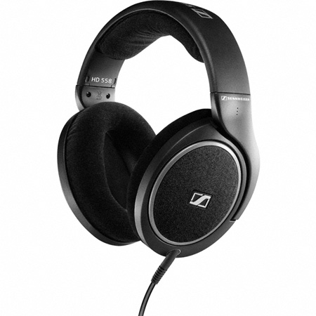 Sennheiser HD-558 High-End Open Circumaural Headphones with E.A.R. Technology
