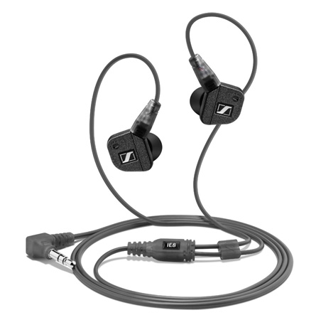 Sennheiser IE8 Premium Audiophile In Ear Headphones with Tunable Bass