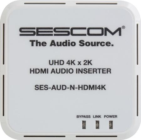 Sescom SES-AUD-N-HDMI4K UHD 4K/2K HDMI Audio Inserter & HDMI Extender