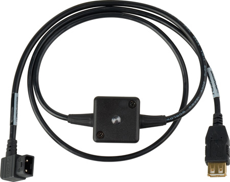 Sescom SES-DTAP-USBPWR3 Anton Bauer/IDX D-Tap 12V to 5V USB Power Cable 3 Foot