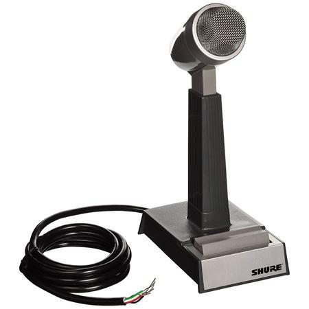 Shure 522 Voice Communication Push To Talk PTT Desktop Microphone