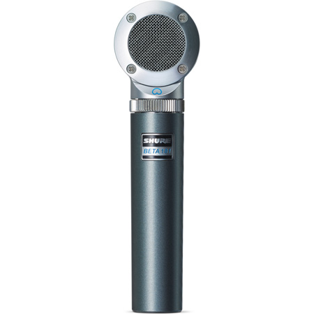 Shure Beta 181/C Ultra-Compact Side-Address Microphone - Cardioid
