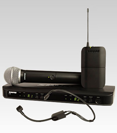 Shure BLX1288/P31-K12 Dual Channel Combo Wireless System - K12 614-638 MHz