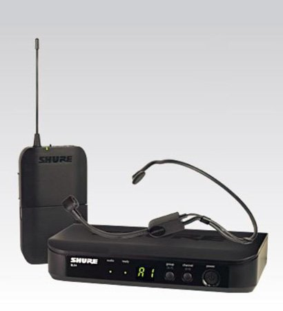 Shure BLX14/P31 Headworn Wireless System (H8: 518 - 542 MHz)