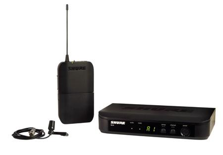 Shure BLX14CVL-J10 Lavalier Wireless System - J10 584-608 MHz