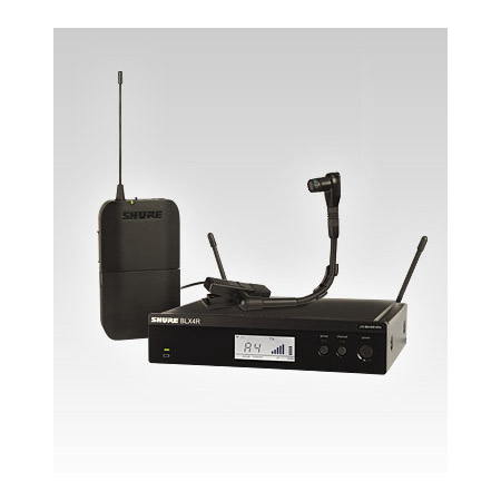 Shure BLX14R/B98-H8 Instrument Wireless System - H8 518-542 MHz