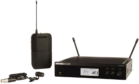 Shure BLX14R/W85-M15 Lavalier Wireless Microphone System - M15 662-686 MHz