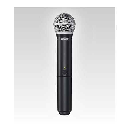 Shure BLX2/PG58-H8 PG58 Handheld Wireless Microphone - H8 518-542 MHz
