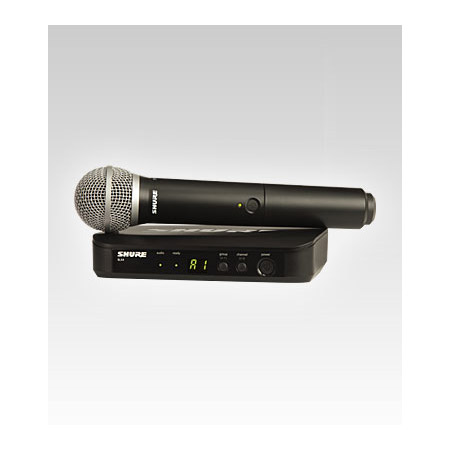 Shure BLX24/PG58 Handheld Wireless System - H8 518-542 MHz