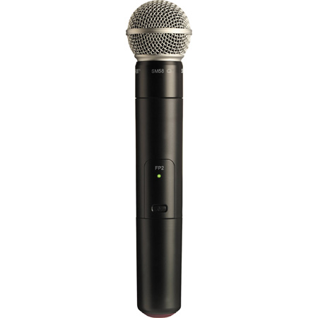 Shure FP2/SM58 Handheld Wireless Microphone Transmitter with SM58 - J3 572-596 MHz