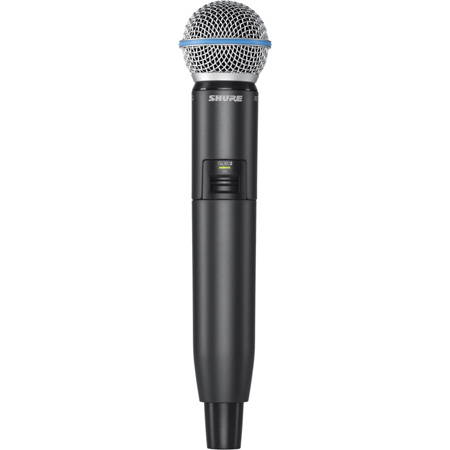 Shure GLXD2/BETA58 Handheld Wireless Transmitter with BETA58A