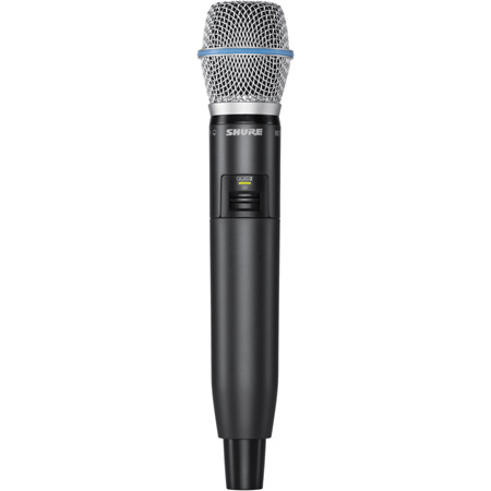 Shure GLXD2/BETA58 Handheld Wireless Transmitter with BETA87A