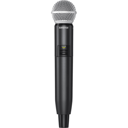 Shure GLXD2/SM58 Handheld Wireless Transmitter with SM58