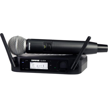 Shure GLXD24/SM58 Handheld Wireless System with SM58