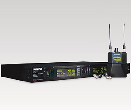 Shure PSM1000 Wireless System with (2) Bodypack Receivers and (2) SE425-CL Headphones - J8 (554 - 625 MHz)