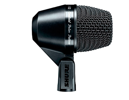 Shure PG Alta PGA52-XLR Cardioid Swivel-Mount Dynamic Kick-Drum Mic - XLR-XLR Cable
