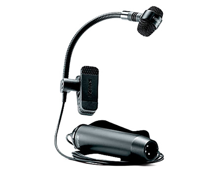 Shure PG Alta PGA98H-TQG Cardioid Condenser Gooseneck Instrument Mic - TA4F Connector - Use w/ Wireless Sys.