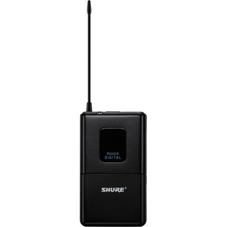 Shure PGXD1-X8 Digital Wireless Bodypack Transmitter
