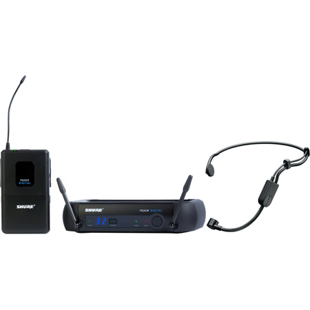 Shure PGXD14/PGA31-X8 Digital Wireless System with PG31 Headset Microphone