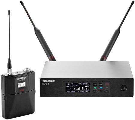 Shure QLXD14-H50 QLX-D Bodypack System - (534 - 598 MHz)