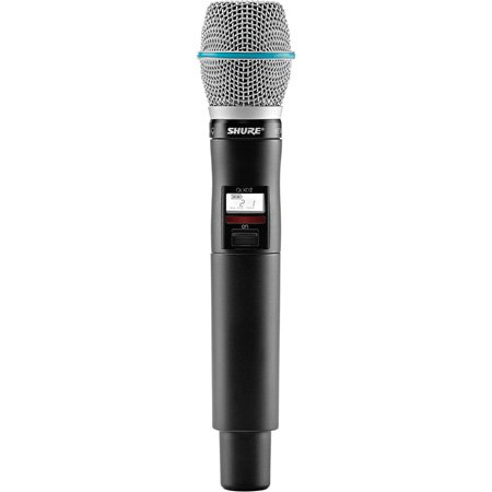Shure QLXD2/Beta 87A-G50 Handheld Transmitter with Beta87A Microphone