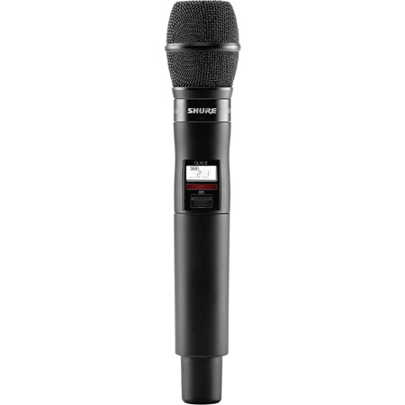 Shure QLXD2/KSM9-H50 Handheld Transmitter with KSM9 Microphone - (534 - 598 MHz)