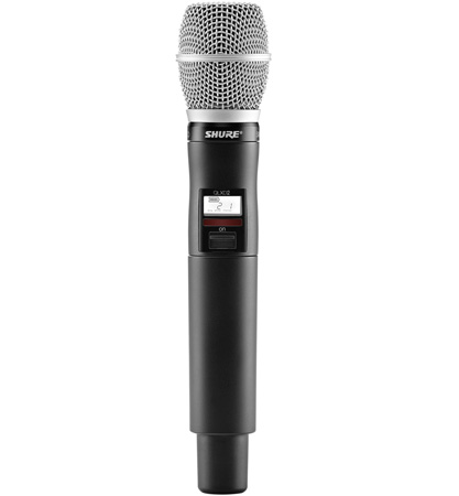 Shure QLXD2/SM86-L50 Handheld Transmitter with SM86 Microphone