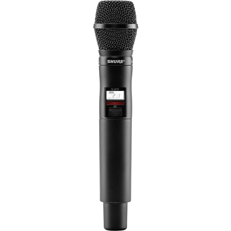 Shure QLXD2/SM87A-J50 Handheld Transmitter with SM87 Microphone - (572 - 636 MHz)