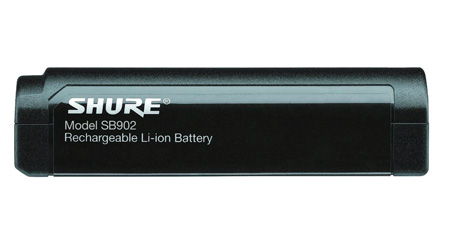 Shure SB902 - Shure Rechargeable Battery for GLXD1 and GLXD2