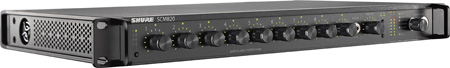 Shure SCM820-DAN 8-Channel Digital IntelliMix with Dante Digital Audio