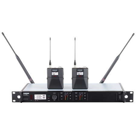 Shure ULXD14D Dual Wireless System - L50 Band