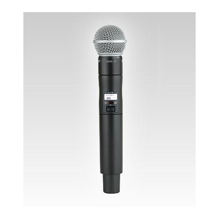 Shure ULXD2/B58 Handheld TX with BETA 58A Mic