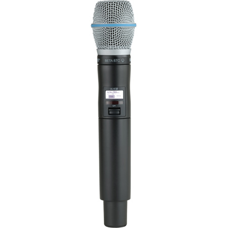 Shure ULXD2/B87C Handheld TX with BETA 87C Mic - G50 470-536 MHz
