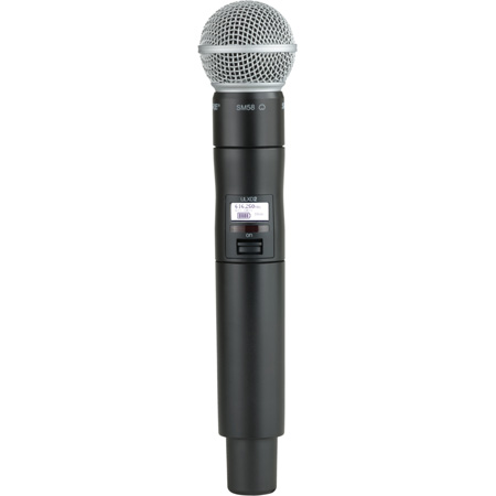Shure ULXD2/SM58 Handheld TX with SM58 Mic - J50 572-638 MHz