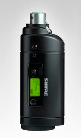 Shure UR3 Plug-on Wireless Microphone Transmitter - G1 470-530Mhz