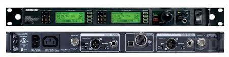 Shure UR4D-G1 Dual Channel Diversity Receiver with IEC Power Cable - G1 470-530Mhz