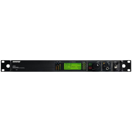 Shure UR4S-H4 Single Channel Diversity Receiver with IEC Power Cable - H4 518-578MHz