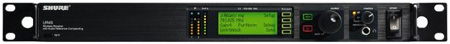 Shure UR4S-J5 Single Channel Diversity Receiver with IEC Power Cable - J5 578-638MHz