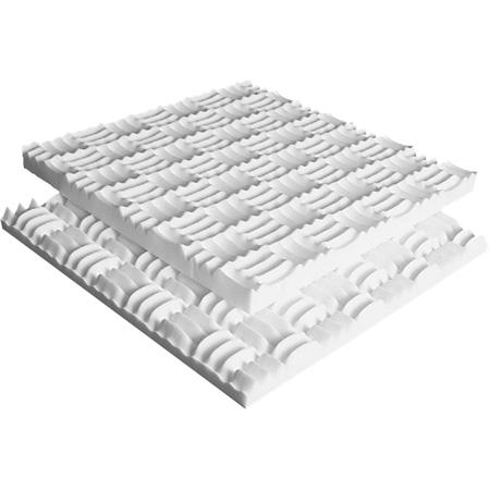 Sonex SJO-2 Junior 24 x 24 x 2 Inch Thick Box of 4 - White