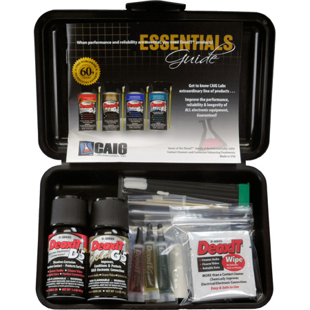 CAIG Laboratories DeoxIT Audio Video Survival Cleaning Kit
