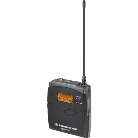 Sennheiser SK500G3-B Evolution Wireless G3 Bodypack Transmitter (626-668 MHz)