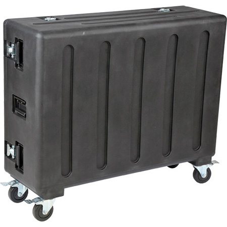 SKB 1RMQU32-DHW Rolling Mixer Case QU32 w/doghouse