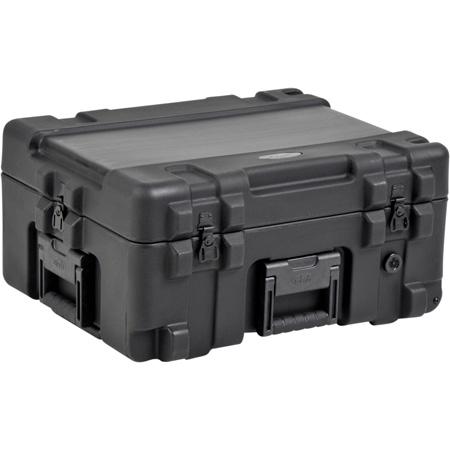 SKB 3R2217-10B-CW Roto-molded Mil-Standard Case w/Foam & Wheels