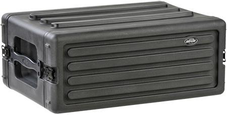 SKB 1SKB-R4S 4U Shallow Roto Rack With Steel Rails (Front/Back)