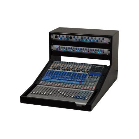 Grundorf SLBPRESL1642-4 Desktop Slant Rack for PreSonus SL1642 Mixer Black