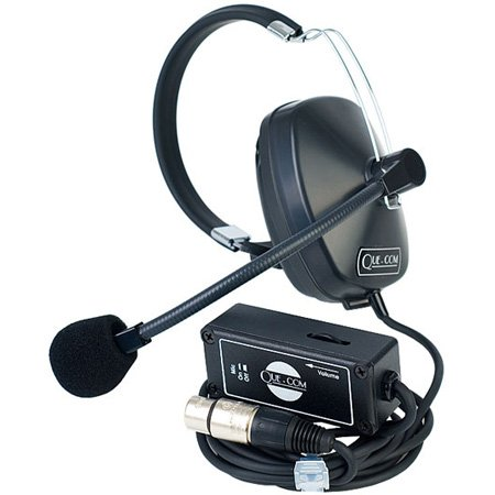 Clear-Com SMQ -1 Single Ear Headset Belt pack Combination