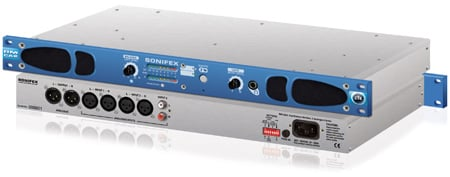 Sonifex RM-CA2  Confidence Monitor - 2 LED Meters -  2 Analog  Stereo Inputs
